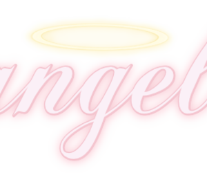 angel and pink image