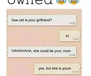 funny, girlfriend, and owned image