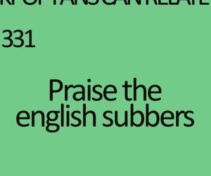 english, sub, and thank you image