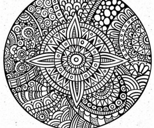 another unreal mandala coloring page for adults more like it soon