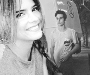 shelley hennig, teen wolf, and dylan o'brien image