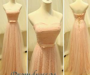 rosa, vestidos de fiesta, and vestidos largos image