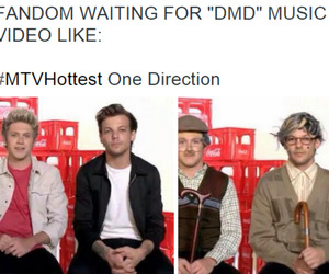 funny, louis, and 1d image