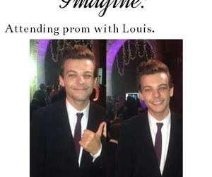 imagine, Prom, and louis tomlinson image