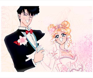sailor moon, love, and cute image