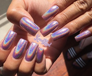 acrylics, beautiful, and holographic image