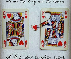 love, heart, and king image