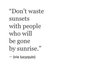 quotes, sunrise, and sunset image