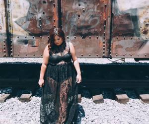 alternative, blackdress, and blogger image