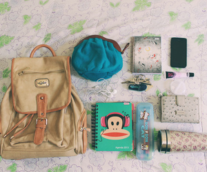 bag, school, and college image