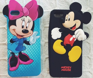case, disney, and mickey image