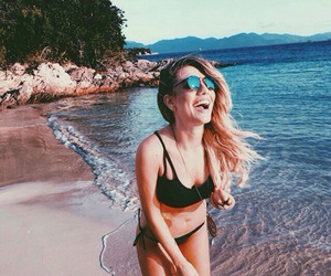 beach, beauty, and girly image