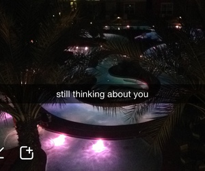 snapchat, couple, and pool image