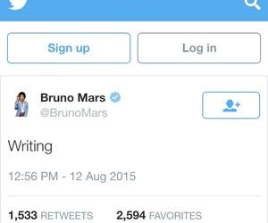songs, writing, and bruno mars image