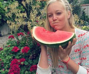 smile, hydratation, and vegan image
