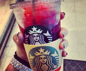 starbucks, drink, and nails image