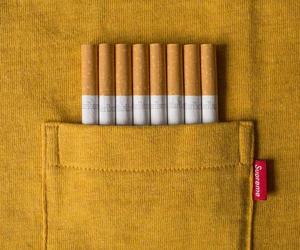 amarillo, cigarrillos, and alternativo image