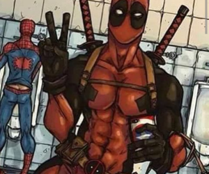 deadpool, spiderman, and spiderpool image