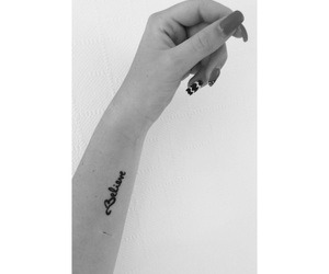 arm, believe, and black image