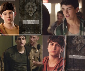 donovan, hunger games, and teen wolf image