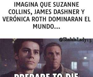 suzanne collins, veronica roth, and james dashner image