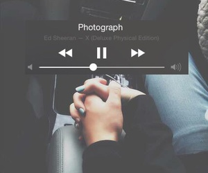 photograph, ed sheeran, and music image