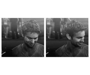 blackandwhite, Chace Crawford, and gorgeous image