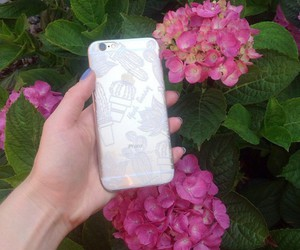 case, henna, and iphone image