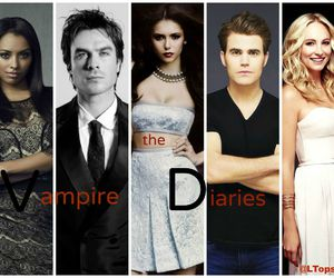 ian somerhalder, Nina Dobrev, and series image