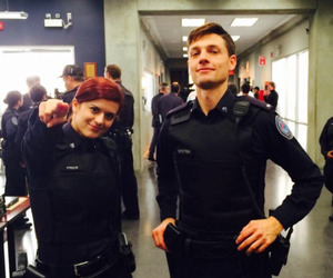 gregory smith, rookie blue, and dov epstein image
