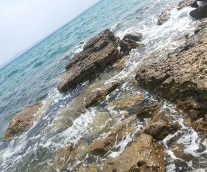 beach, Greece, and sea image