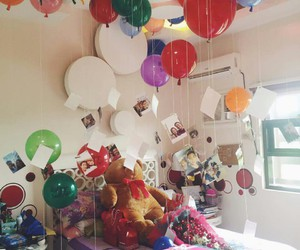 balloons and birthday image
