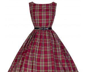 fashion, tartan, and swing dress image