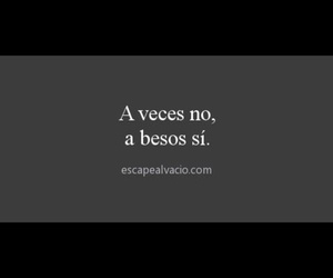 Besos, frases en español, and frases image