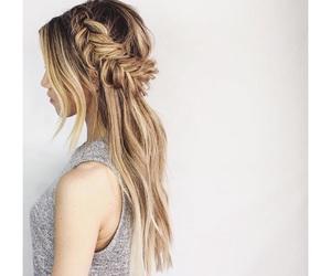braids, fashion, and fishtail image