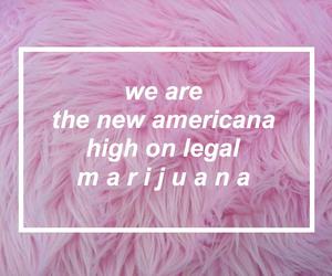 halsey, pink, and new americana image