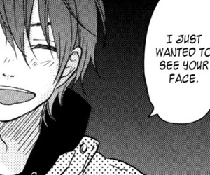 manga, quote, and boy image