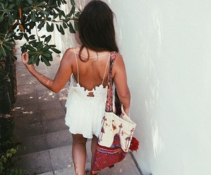 fashion, girl, and boho image