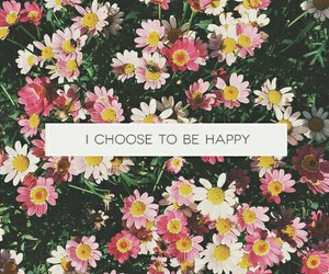 flowers, quotes, and happy quotes image