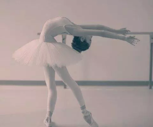ballet, cambré, and love image