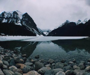 nature, mountains, and snow image