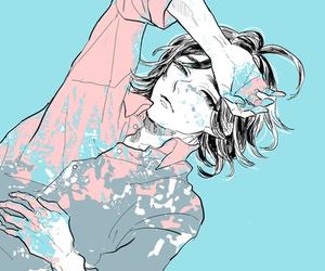 alone, beautiful, and blue image