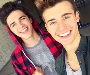 brent rivera, chris collins, and viners image