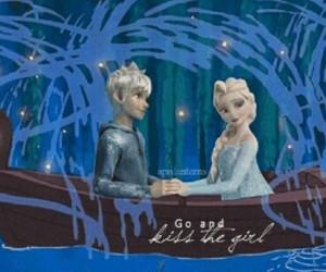 romantic, the little mermaid, and jelsa image