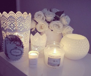 candles, cute, and decor image