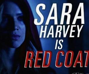 coat, red, and sara image