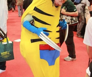 wolverine and banana image
