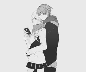 anime, couple, and manga image