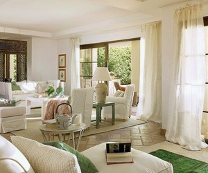 country living room image