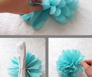 diy, paper craft, and paper flower image